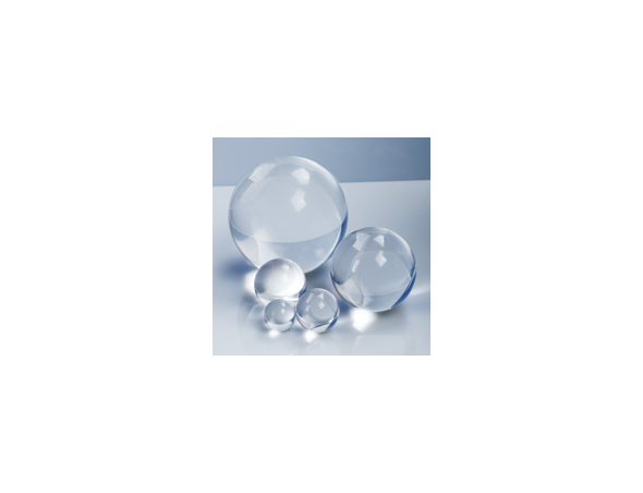 Round Clear Polished Solid Acrylic Balls From Delvie S