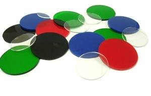 Delvie S Plastics Inc Colored Acrylic Disks