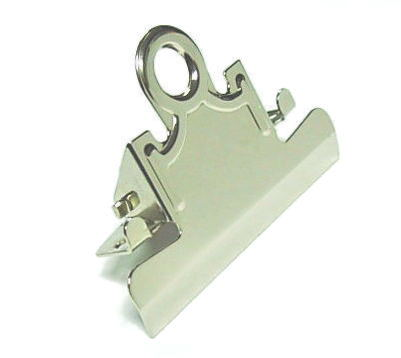 3 Quot Nickel Finish Clipboard Clips From Delvie S Plastics