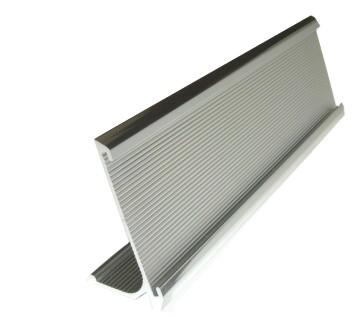 #59 JRS Executive Ribbed Desk Name Plate Holders - 2  Tall  sc 1 st  Delvieu0027s Plastics & JRS Desk Name Plate Holders - Delvieu0027s Plastics Inc.