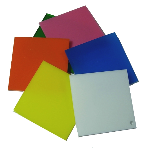 Lot 6 3 16 Quot Colored Acrylic Sheet From Delvie S Plastics