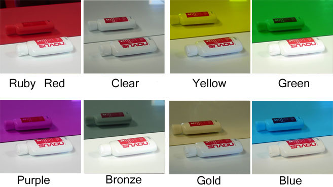 colored plexiglass sheet - Plexiglas Color