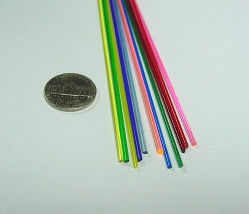 1 8 Quot Colored Rod Assortment From Delvie S Plastics