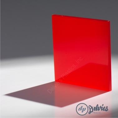 Translucent Cast Acrylic (Plexiglass) Sheet from Delvie\'s Plastics