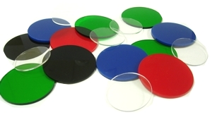 Laser Cut Acrylic Disks And Squares Delvie S Plastics Inc