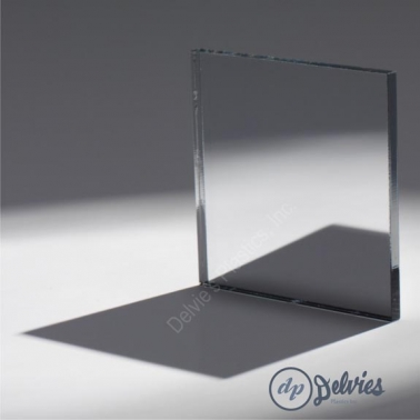 Clear MIRROR Acrylic Plexiglass Sheet from Delvie\'s Plastics