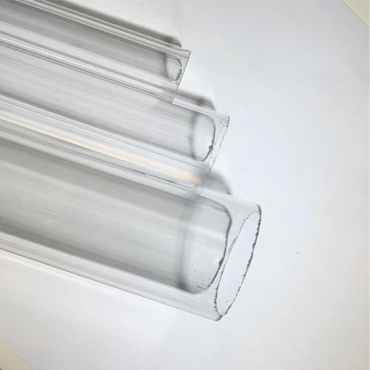 Clear Round Extruded Acrylic Tube Delvie S Plastics Inc