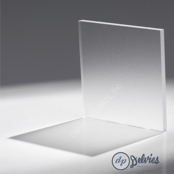 Clear Frosted Non Glare Acrylic Sheet Delvie S Plastics Inc
