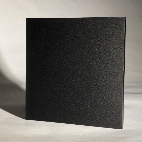2025 Black Opaque P95 Matte Acrylic Sheet From Delvie S