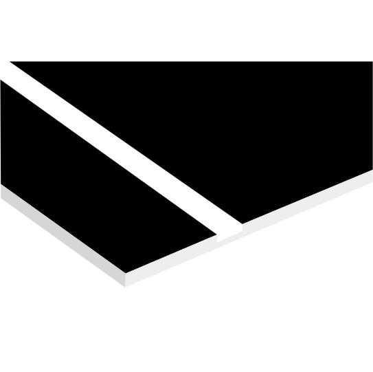 Black On White Laserable Plastic Delvie S Plastics Inc
