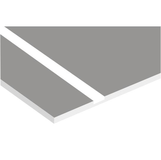 Grey On White Laserable Plastic Delvie S Plastics Inc