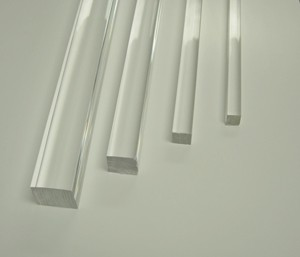 Extruded Clear And Colored Acrylic Plexiglass Rod Delvie